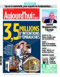 Aujourd'hui en France – 03 juin 2019