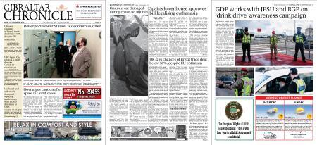 Gibraltar Chronicle – 18 December 2020