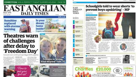 East Anglian Daily Times – June 17, 2021