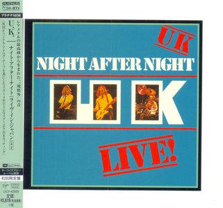 U.K. - Night After Night (1979) [2014, Universal Music Japan, UICY-40089]