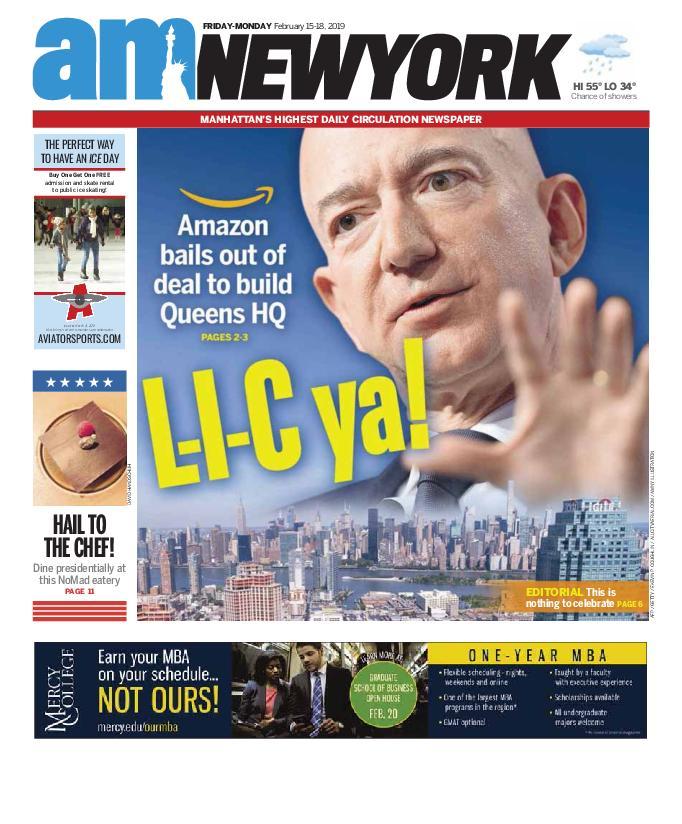 AM New York - February 15, 2019