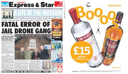 Express and Star Sandwell Edition – October 27, 2018