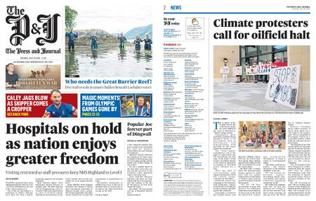 The Press and Journal Moray – July 20, 2021