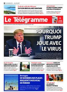 Le Télégramme Auray – 20 mai 2020