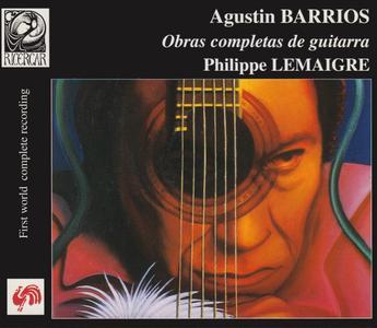 Agustin Barrios - Obras completas de guitarra (Complete guitar works) -  Philippe Lemaigre (1999) {5CD Set Ricercar RIC 148}