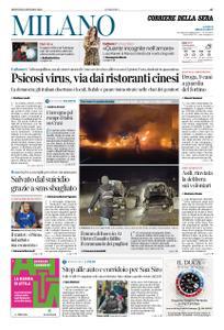 Corriere della Sera Milano – 30 gennaio 2020