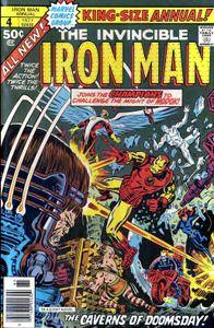Iron Man Annual v1 004 Complete Marvel Collection