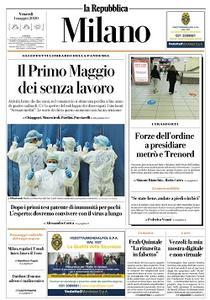 la Repubblica Milano - 1 Maggio 2020