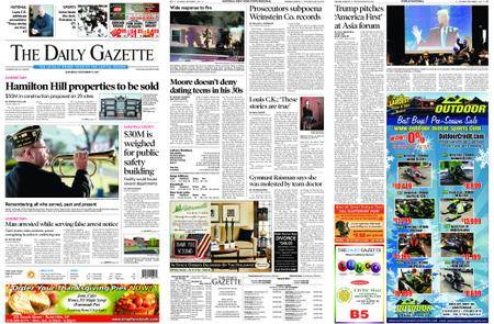 The Daily Gazette – November 11, 2017
