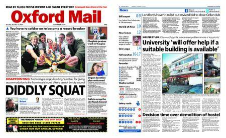Oxford Mail – October 10, 2017