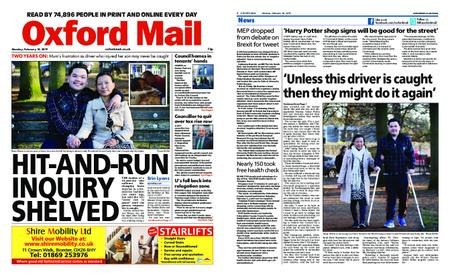 Oxford Mail – February 18, 2019