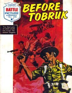 Battle Picture Library 0288 - Before Tobruk [1967] (Mr Tweedy