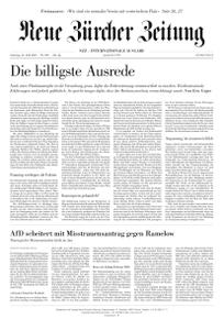 Neue Zürcher Zeitung International - 24 Juli 2021