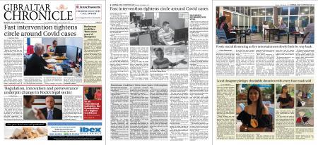Gibraltar Chronicle – 19 October 2020