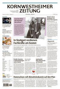Kornwestheimer Zeitung - 17. Mai 2018