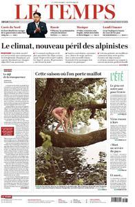 Le Temps - 29 juillet 2019