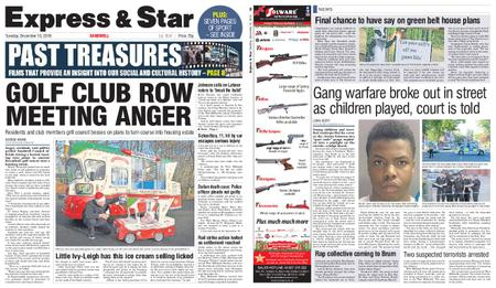 Express and Star Sandwell Edition – December 10, 2019
