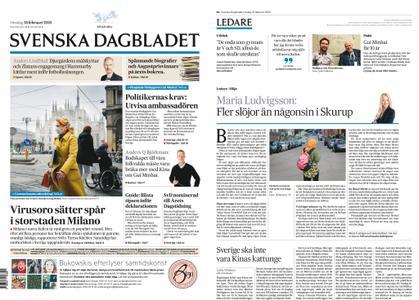 Svenska Dagbladet – 26 februari 2020