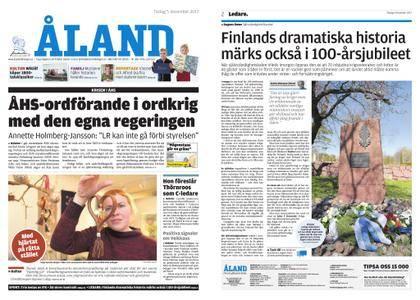 Ålandstidningen – 05 december 2017