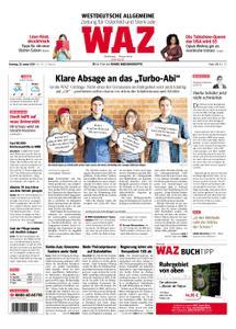 WAZ Westdeutsche Allgemeine Zeitung Oberhausen-Sterkrade - 29. Januar 2019