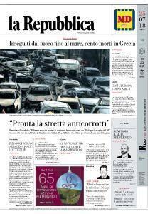 la Repubblica - 25 Luglio 2018