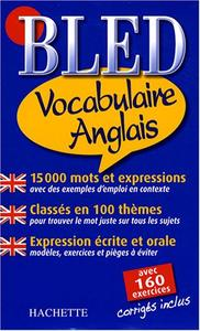 """Annie Sussel, Isabelle Perrin, Bernard Cros, """"Bled Vocabulaire Anglais"""" (repost)"""