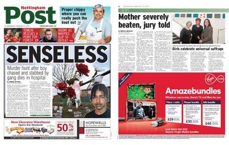 Nottingham Post – February 21, 2018