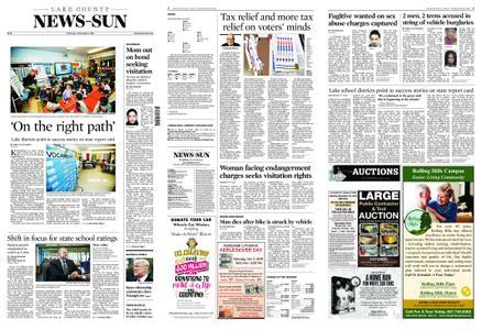 Lake County News-Sun – November 01, 2018