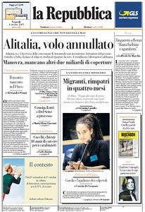 la Repubblica - 4 Ottobre 2019