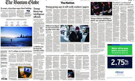 The Boston Globe – January 31, 2019