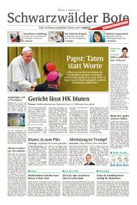 Schwarzwälder Bote Hechingen - 22. Februar 2019