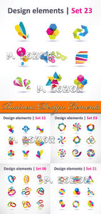 Business Design Elements - Stock Vectors