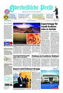 Oberhessische Presse Marburg/Ostkreis - 03. November 2018