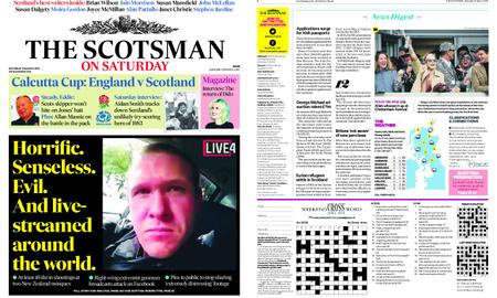 The Scotsman – March 16, 2019