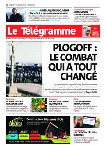 Le Télégramme Brest Abers Iroise – 05 février 2020