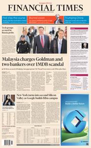 Financial Times Europe – 18 December 2018