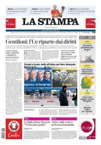 La Stampa Imperia e Sanremo - 16 Settembre 2019
