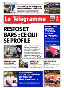 Le Télégramme Quimper – 28 mai 2020