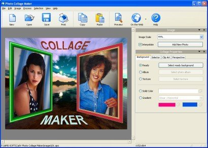 AMS Software Photo Collage Maker v2.35 Portable