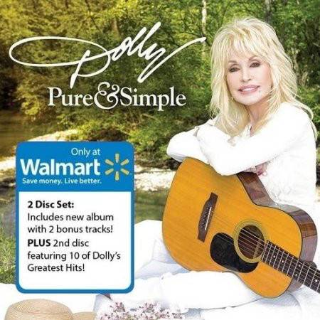 Dolly Parton Pure Amp Simple 2cd Disc Set 2016
