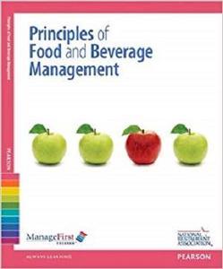 ManageFirst: Principles of Food and Beverage Management