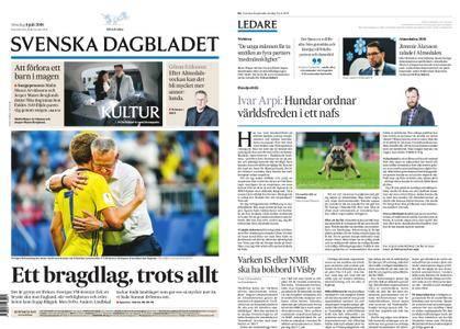Svenska Dagbladet – 08 juli 2018