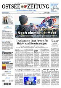 Ostsee Zeitung Wolgast - 05. November 2018