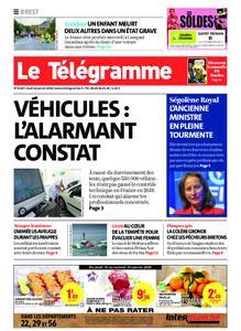Le Télégramme Brest – 16 janvier 2020