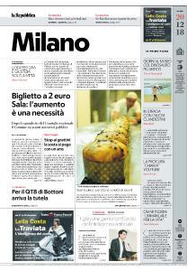 la Repubblica Milano - 20 Dicembre 2018