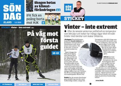Ålandstidningen – 03 februari 2019