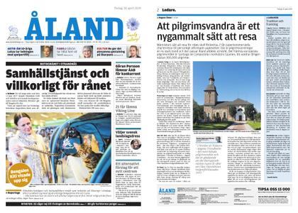 Ålandstidningen – 30 april 2019