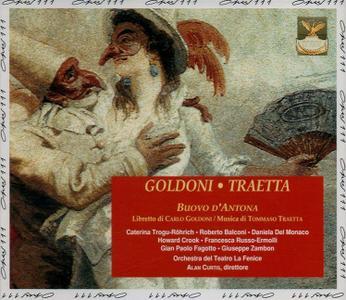 Alan Curtis,  Venice La Fenice Orchestra - Tommaso Traetta: Buovo d'Antona (1993)