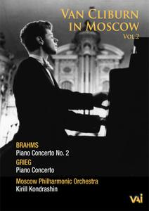 Van Cliburn in Moscow Vol.2 - Brahms: Piano Concerto No.2; Grieg: Piano Concerto (2008/1972)