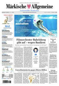Märkische Allgemeine Luckenwalder Rundschau - 31. Juli 2018